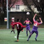 Midfield Tussle